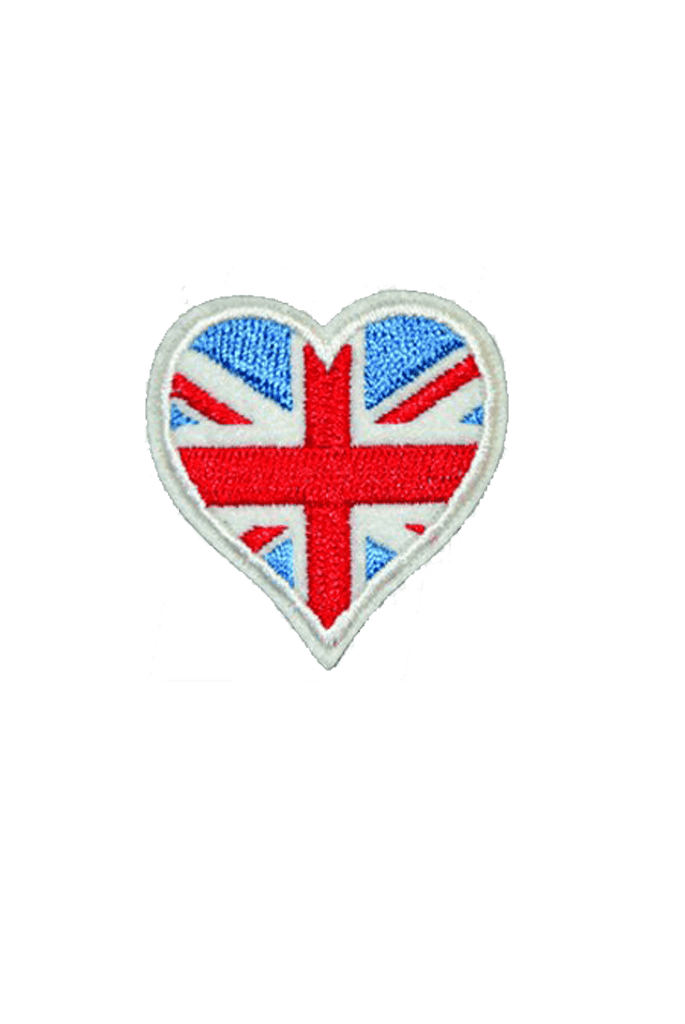 Union Jack Iron On Patch_Tag From me.n.u