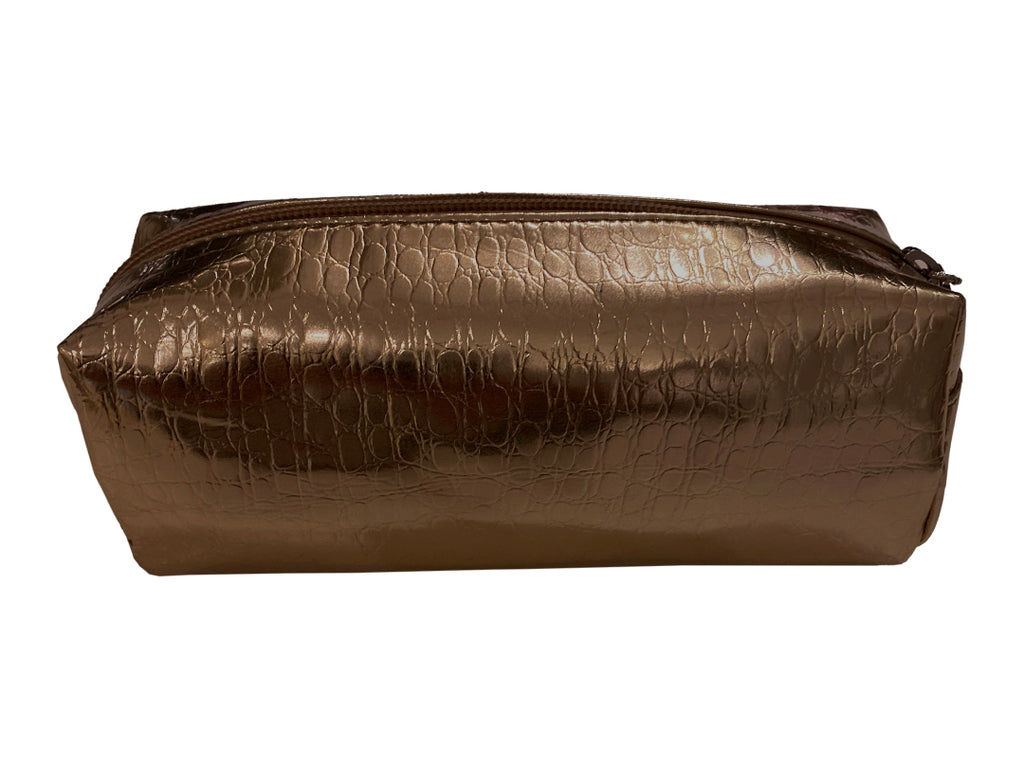 Metallic Cosmetic Case - Cooper