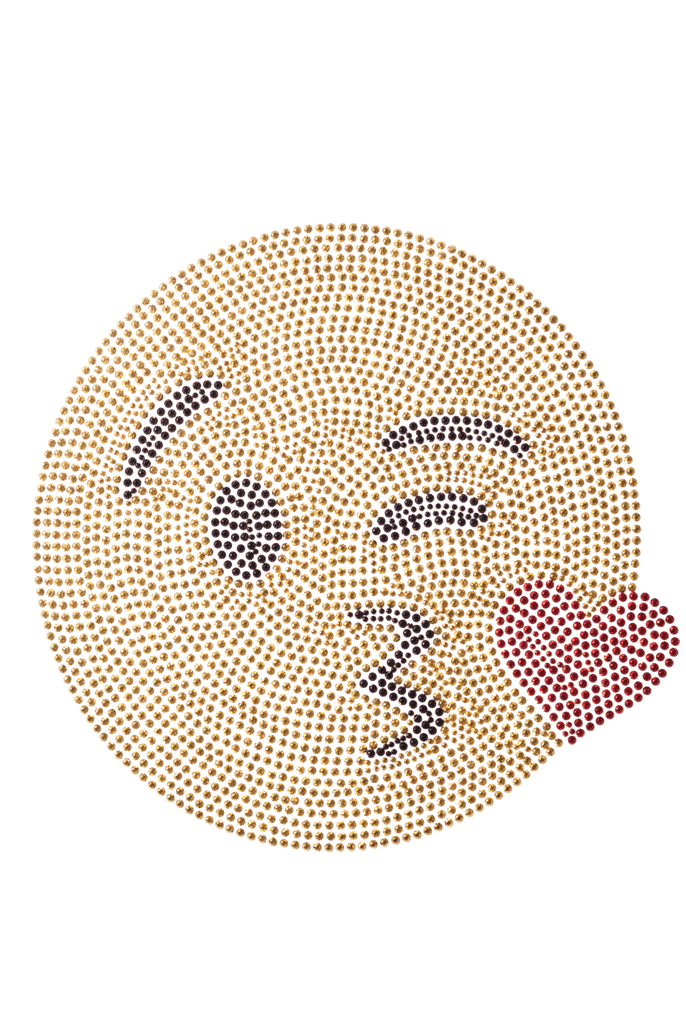 Wink Kiss Emoji - Large