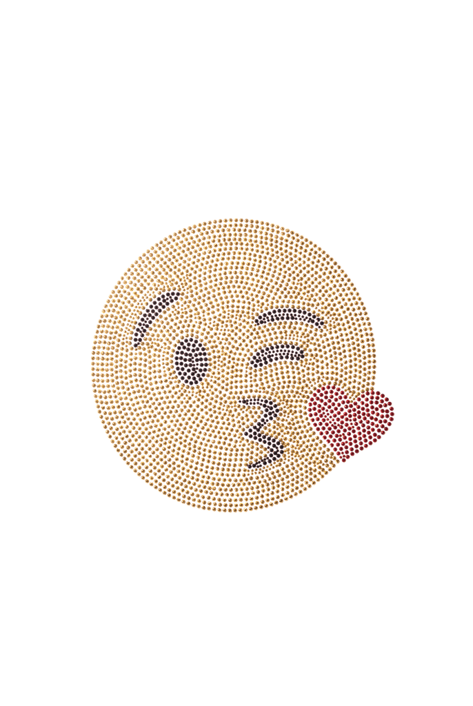 Wink Kiss Emoji - Medium