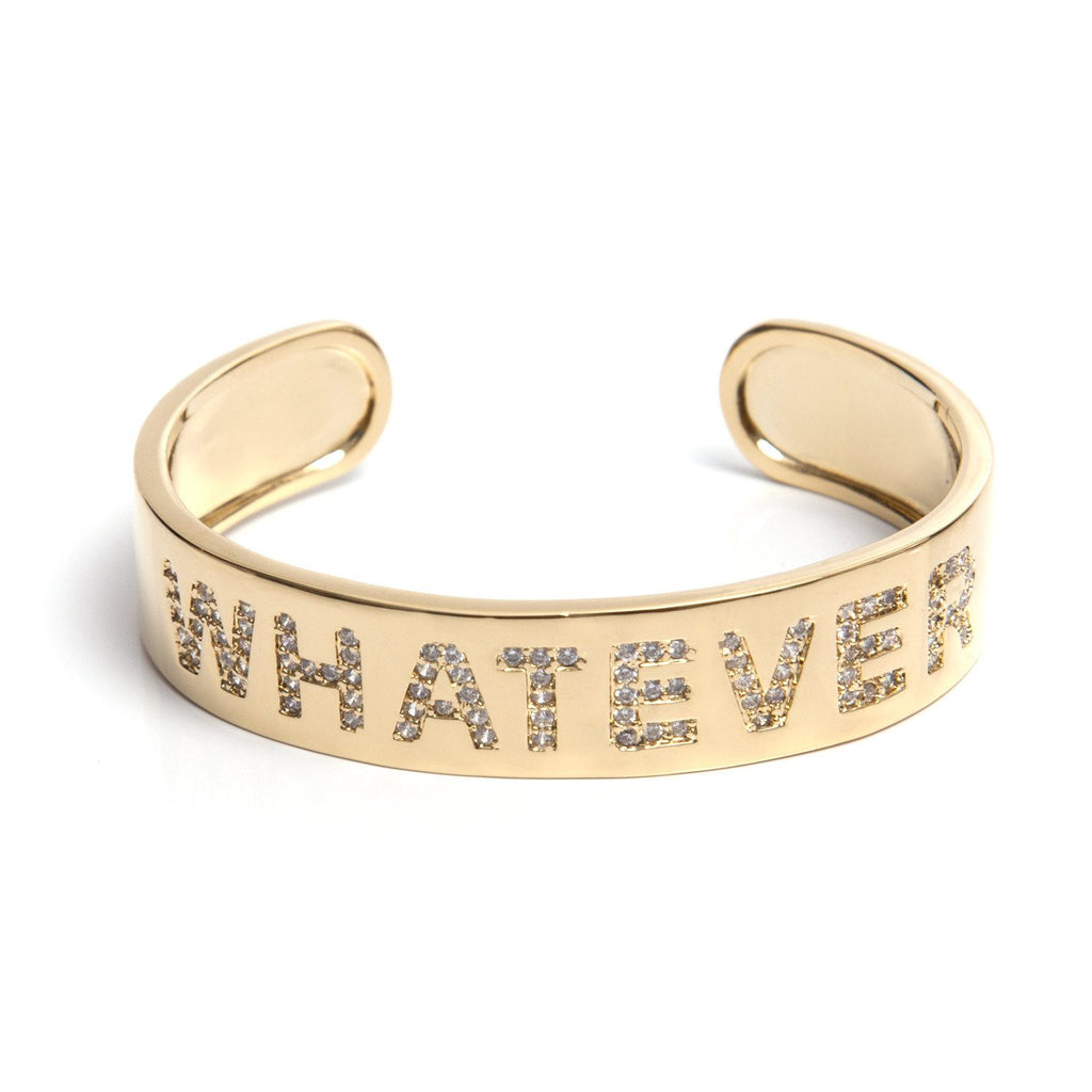 me.n.u WHATEVER Cuff - Gold