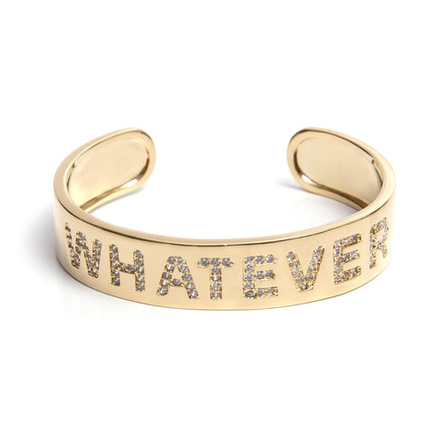Whatever Cuff - Gold