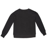 French Terry Sweatshirt- Black