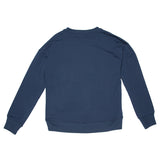 French Terry Sweatshirt- Navy
