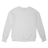 French Terry Sweatshirt- White