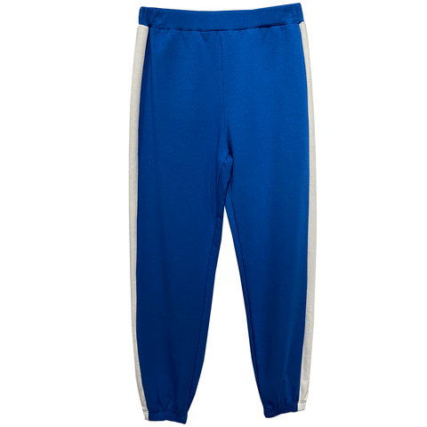 Colorblock Sweatpant - Royal Blue