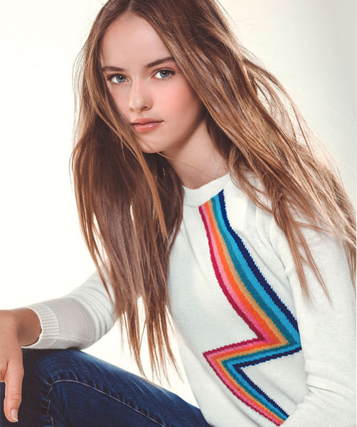 Rainbow Bolt Sweater
