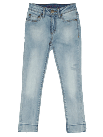 Skinny Ankle Crop Jean - Lightwash