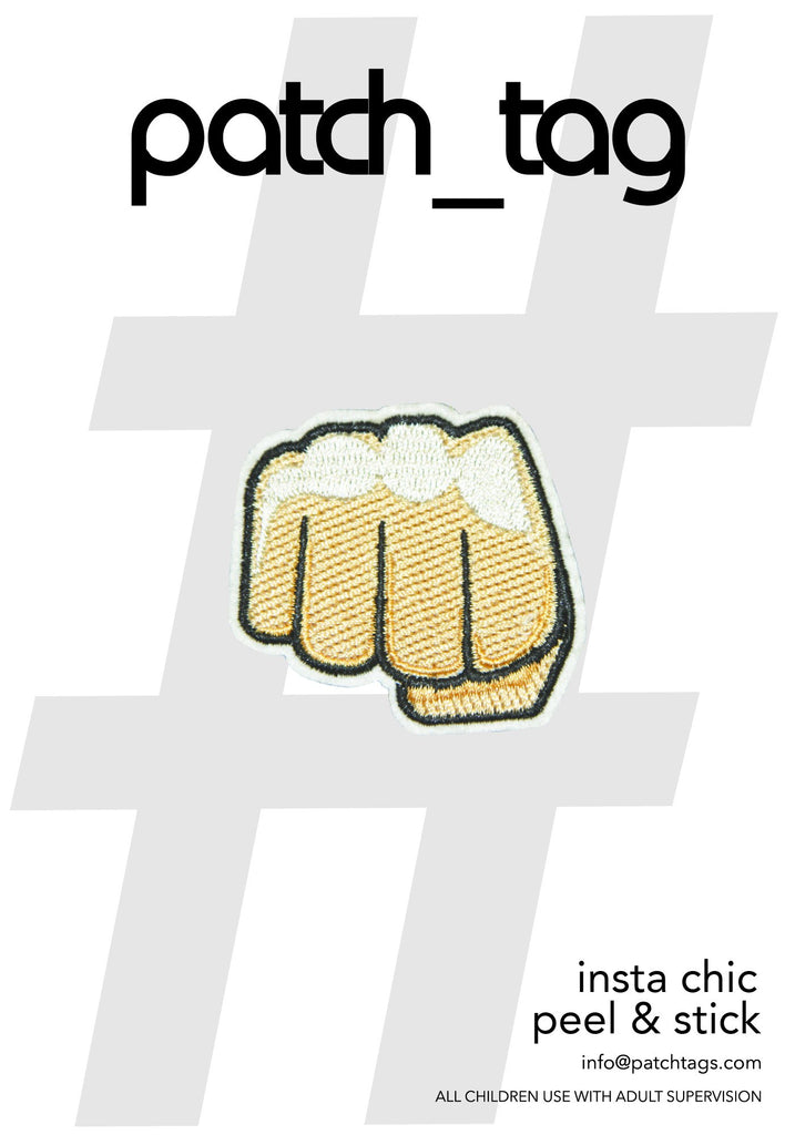 Fist Patch_Tag Sticker From me.n.u