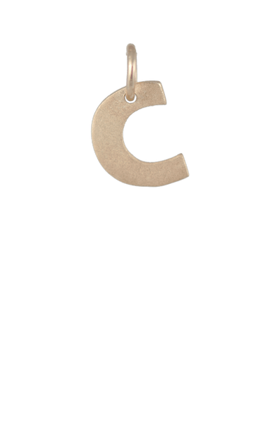 Tween Gift Ideas, Gold Block Letter C