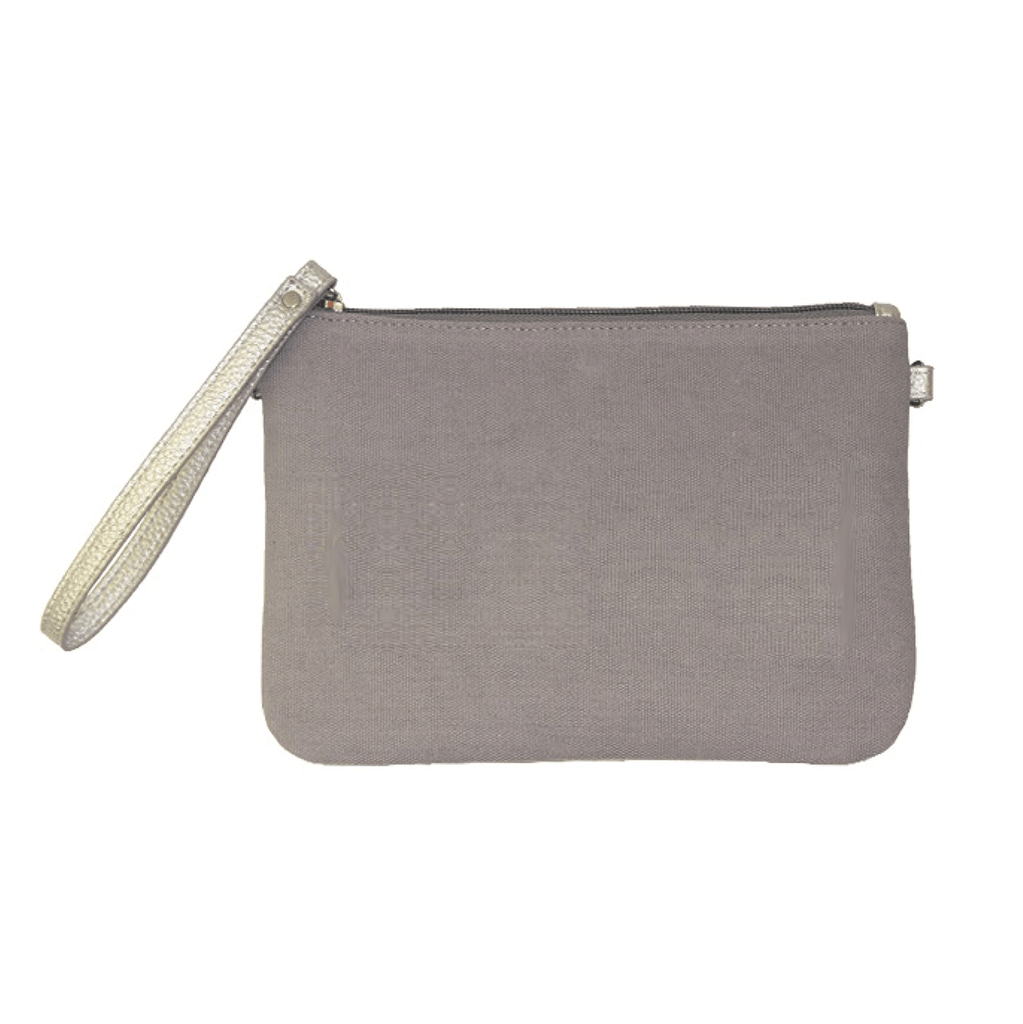 Canvas Crossbody - Grey