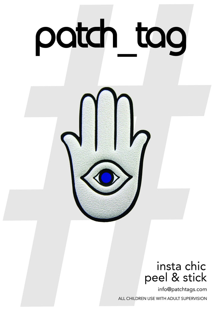 Hamsa Patch_Tag Sticker From me.n.u