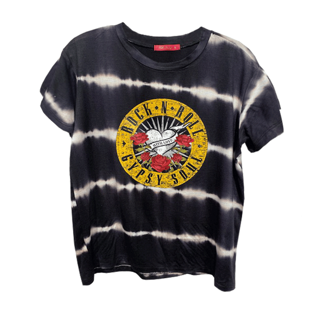Tie Dye Rocker Tee- Rock n Roll