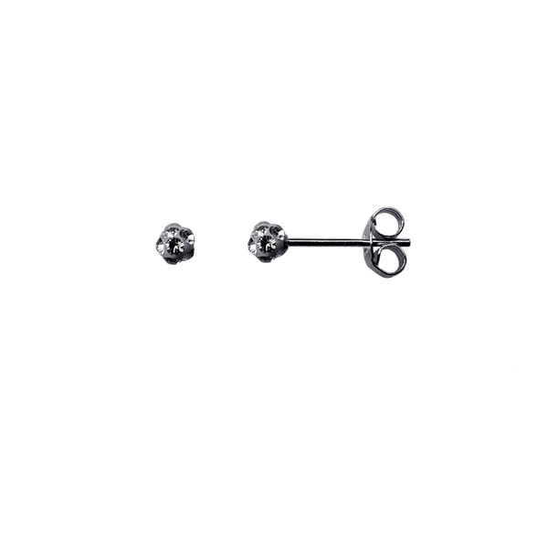 Ball Earring - Silver