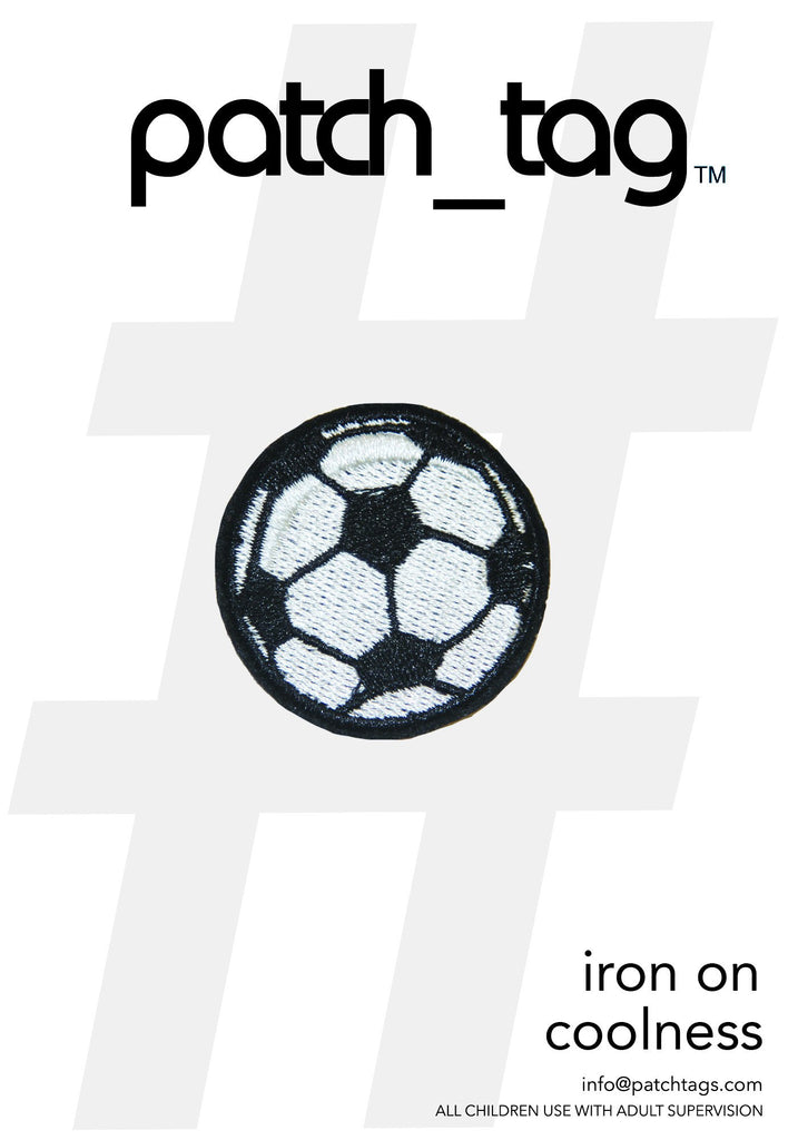 Soccer Ball Iron On patch_tag From me.n.u