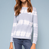 Tie Dye Sweater - Blue
