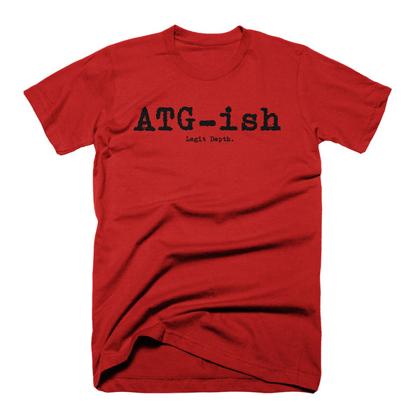 Legit Depth - ATG-ish - on Red Tee