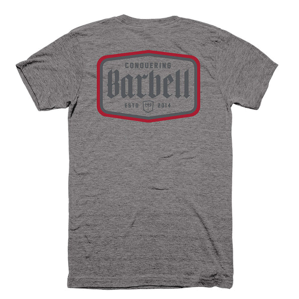 CB Iconic Label - on Heather Grey Tee