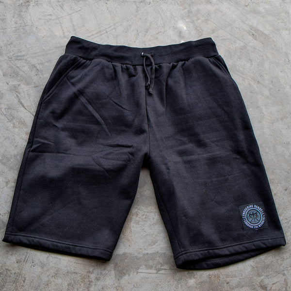 Conquering Barbell Sweat Shorts - Black