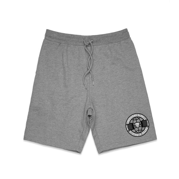 CB Strength Brand French Terry Shorts - Grey