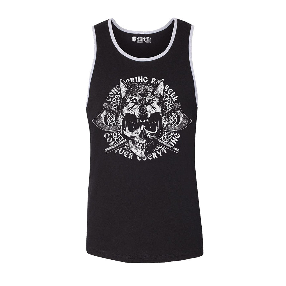 Conquer Everything - Black tank top