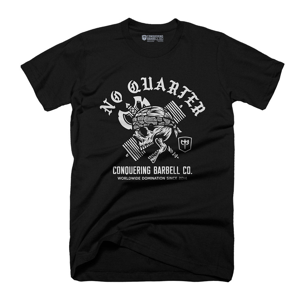 No Quarter - on Black Tee
