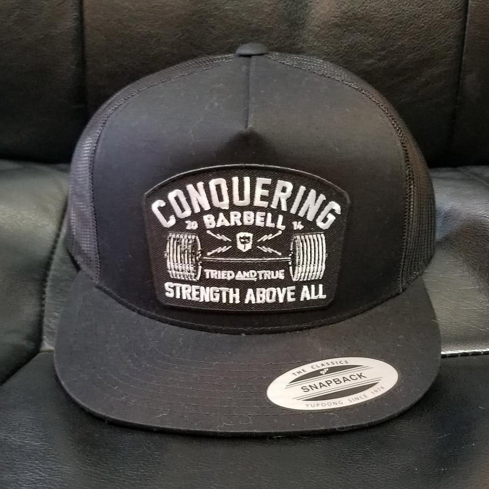 Strength Above All - 5-Panel-Trucker Snapback
