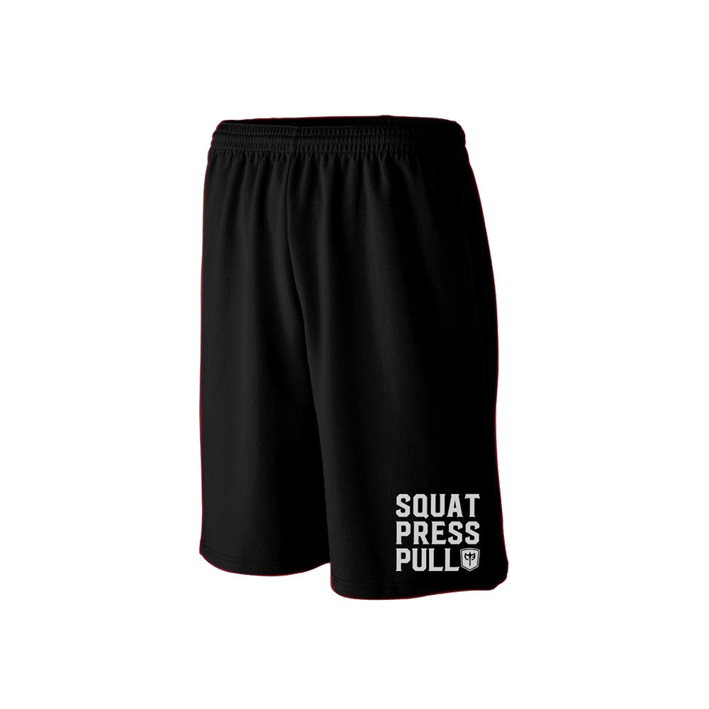 Squat.Press.Pull. Training Shorts - Black
