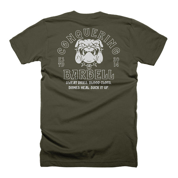 The Devil Dog - Military Green Tee