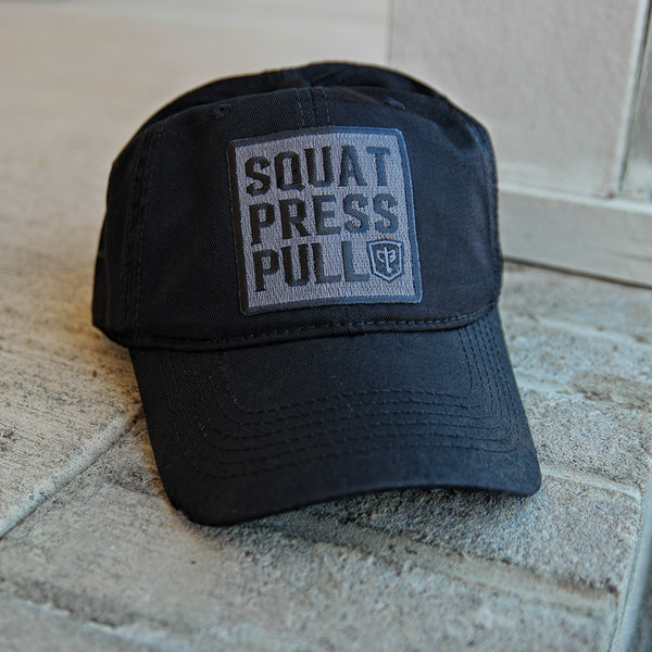 Squat Press Pull Dad Hat - 100% Cotton