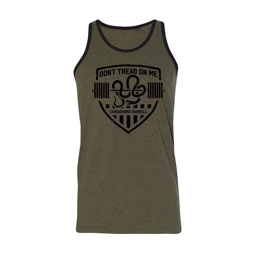 Don't Tread on Me - Military Tank top