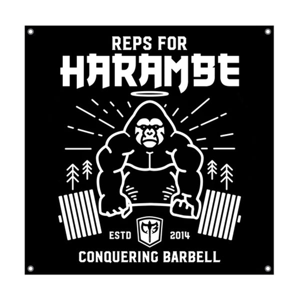 Reps for Harambe - 3'x3' Gym Flag