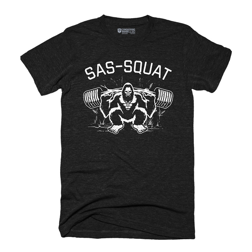Sas-Squat - on Black Tee