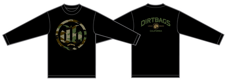 DB Camo Long Sleeve - Black