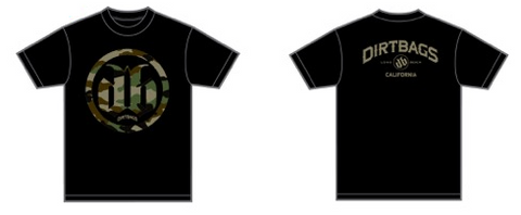 DB Camo T-Shirt - Black