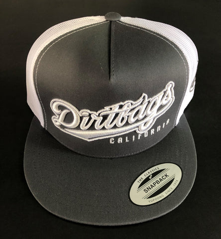 DB Seal Trucker - Grey & White