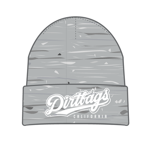 DB Seal Beanie - Heather Grey
