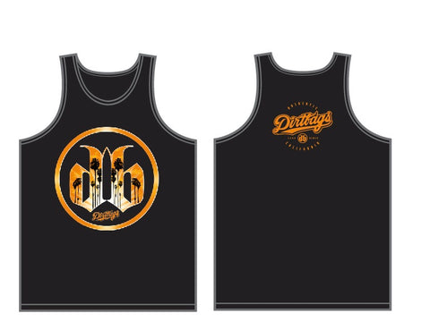 Mens DB Palm Tank - Black