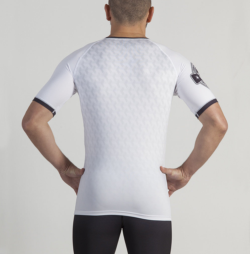 Short Sleeve Rashguard Performance (White)