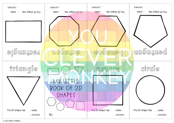 2D Shape Activities Pack