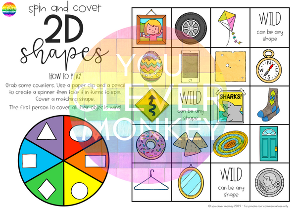 2D Shape Games BUNDLE