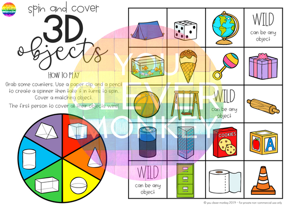 3D Shape Games BUNDLE