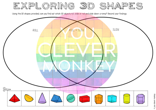 3D Shape Activities Pack