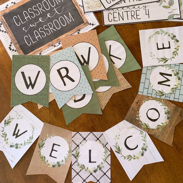MODERN FARMHOUSE Bunting Pack
