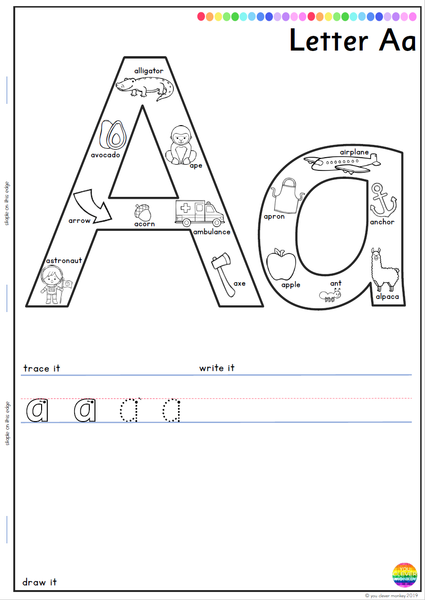Alphabet Beginning Sounds Worksheets