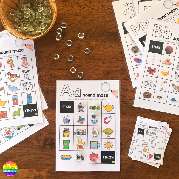 Alphabet Sound Maze BUNDLE
