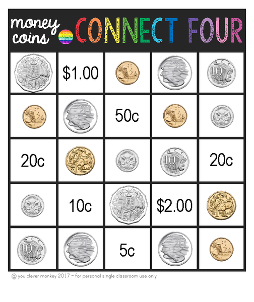 Australian Money - Learning About Coins Games Pack