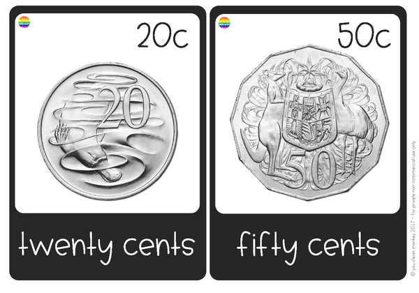 Australian Money - Coins Pack