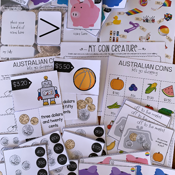 Australian Money - Working With Money Pack