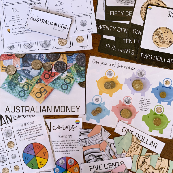 Australian Money - Learning About Coins Pack